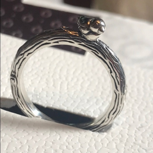 a641d6d85 Pandora Jewelry | 197103 Sz 5 Retired Spring Bird Ring | Poshmark